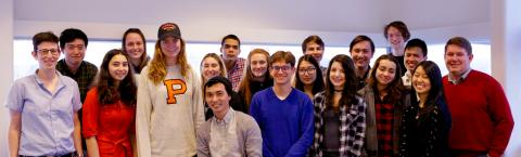 Members of the Princeton Social Neuroscience Lab