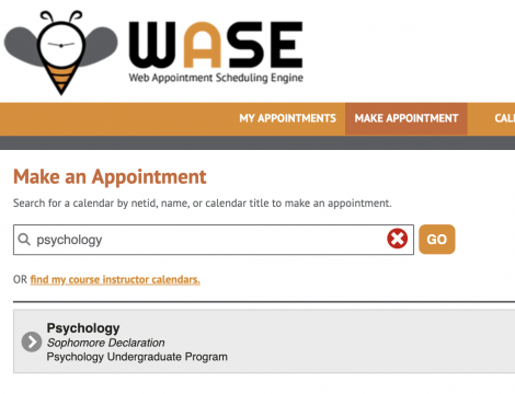 Choose a WASE calendar